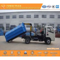 DONGFENG 4x2 5M3  hanging bucket garbage truck
