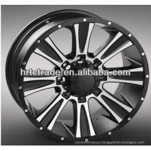 17/18/20 oem via replica wheels for toyota