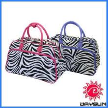 Traveler Women\'s Zebra Print Shoulder Tote Bag/travel duffle bag