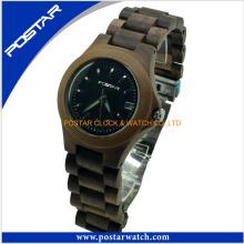 Reloj de madera del deporte del hombre de lujo Relojes de Custimized de la alta calidad