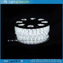 Luz do tubo do diodo emissor de luz (SRH-2W) Branco 100m / rolo Uso ao ar livre Uso interno