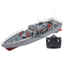 Alta potencia 1: 115 Scale RC Fishing Ship Simulation Guided Torpedo Boat Model