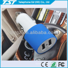 5V 2.1A USB Vehicle Charger Dual USB port for iPad, for iPhone