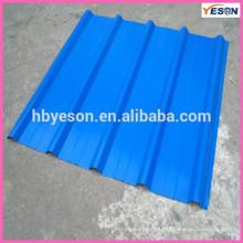 Azulejo de acero duro Azotea / chapa de techo de acero / azotea de acero azul superior