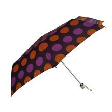 strong wind resistant dot design umbrella aluminium