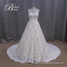 Vestido de novia simple y elegante