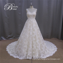 Simple and Elegant Wedding Dress