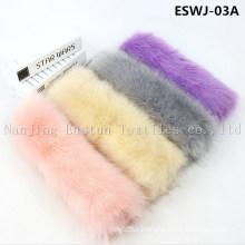Natural Fox Scarf Eswj-03A