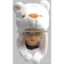 2013 новый дизайн плюшевых животных шляпу для детей