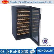 Fabricante de refrigerador de mini barra de color rojo de madera