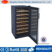 Red Wood Color Mini Bar Refrigerator Manufacturer