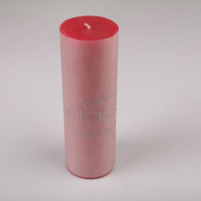 New 10*15 Red Tearless Scented Pillar Candle