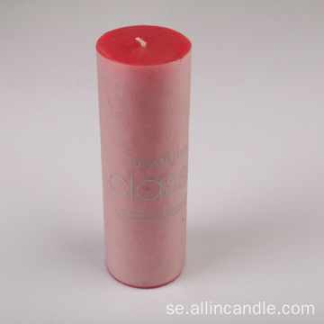Ny 10 * 15 Red Tearless Scented Pillar Candle