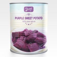 süße lila Kartoffeln aus der Dose