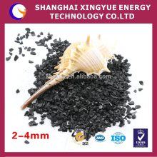 Strong adsorption anthracite filter media with long service life