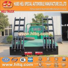 DONGFENG 4X2 camion de transport de machine de pedrail 120hp 6-7tons charge prix chaud à prix réduit en Chine.