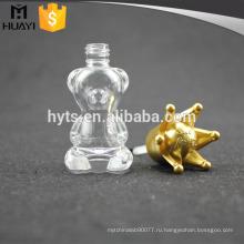 оптовая продажа на заказ стеклянные мини ясно лак для ногтей бутылки