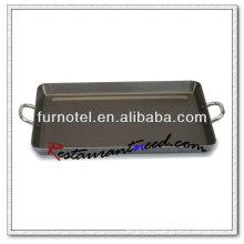 S115 Aleación de aluminio antiadherente Bandeja para hornear