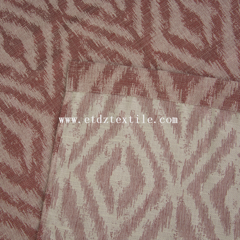Top grade dyed curtain 6002