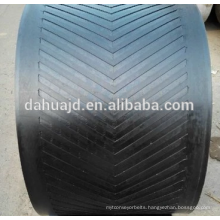 Factory price metallurgy plant use heat resistant rubber belt