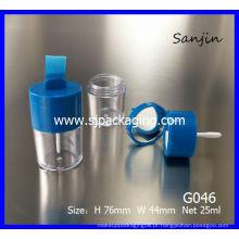 2014 novo produto caixa de pó solto recipiente de sombra solta embalagem de cosméticos embalagem frouxa com espelho