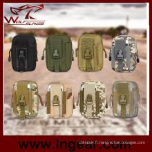 Tactique militaire sac sac banane Molle Sport pour hommes taille sac à outils