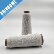 das billigste Latex weiß Gummi überzogen Spandex Garn für Socken und Handschuhe auf Lager