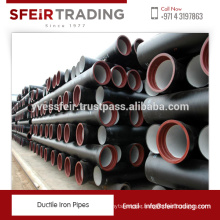 High Standard Effective Ductile Iron Pipe Used for Pipes with Big Diameter