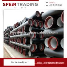 Processo Padrão da Indústria Made Ductile Iron Pipe Disponível a Taxa de Grande Potência