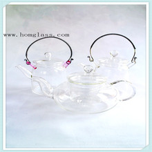 Стеклянный чайник (изготовлены из боросиликатного стекла 3.3) с красивейшим внешним видом