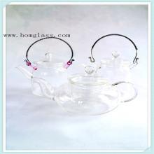 Die Glas-Teekanne (gemacht von Borosilikatglas 3.3) Wih schöne Aussichten