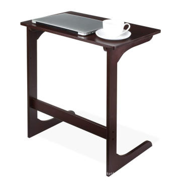 Small Modern Ottoman Black Bamboo Coffee Table