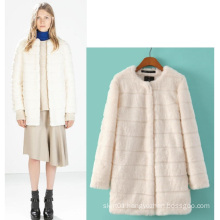 High Quality Newest Jersey Blazer Winter Fur Women Coat