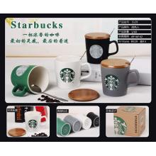 Ceramic Starbucks Latte Coffee Mug