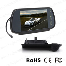 7inch Mirror Display with Car Back up Mini Camera