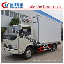 4X2 DFAC Kühlschrank LKW Diesel Maschine Euro 3 Standard China Lieferant
