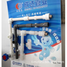 PE, PVC and PPR Pipe Systems for Water Supply