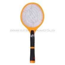 electric fly swatter rechargeable mosquito swatter with torch CE certificated