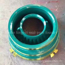 High Manganese Steel Cone Crusher Mantle Concave Wear Parts