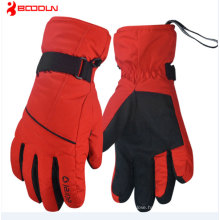 Professional High Quality Outdoor Sports Black Mens Snowboard Gloves