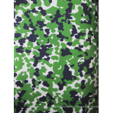 Military Green Camouflage 600d Oxford Polyester Fabric