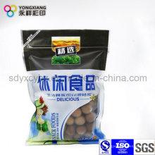 Kundenspezifische Snack Food Ziplock Kunststoff Verpackungsbeutel
