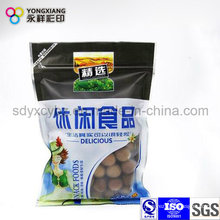 Customized Snack Food Ziplock Plastic Packaging Bag