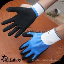 SRSAFETY Высокое качество Нескользящие Sandy Нитриловые перчатки Китай Оптовая