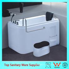 Marcher dans la baignoire surdimensionnée / baignoire avec le siège / Bath pour les personnes âgées