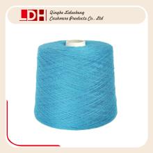 personalizar el color teñido que hace punto el hilado de la cachemira de la cabra de lana para el suéter