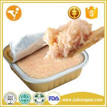 Fabricant d'aliments pour animaux de compagnie en Chine Treats pour animaux de compagnie