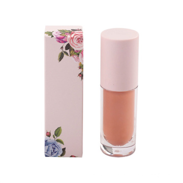 Lipgloss Vendors Long Lasting Nude Clear Lipgloss Tube Private Label Vegan and Cruelty Free Lipgloss