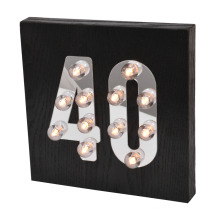 Dekorative LED-Licht für Wand hängen
