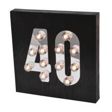 Декоративный светодиодный светильник для настенного крепления